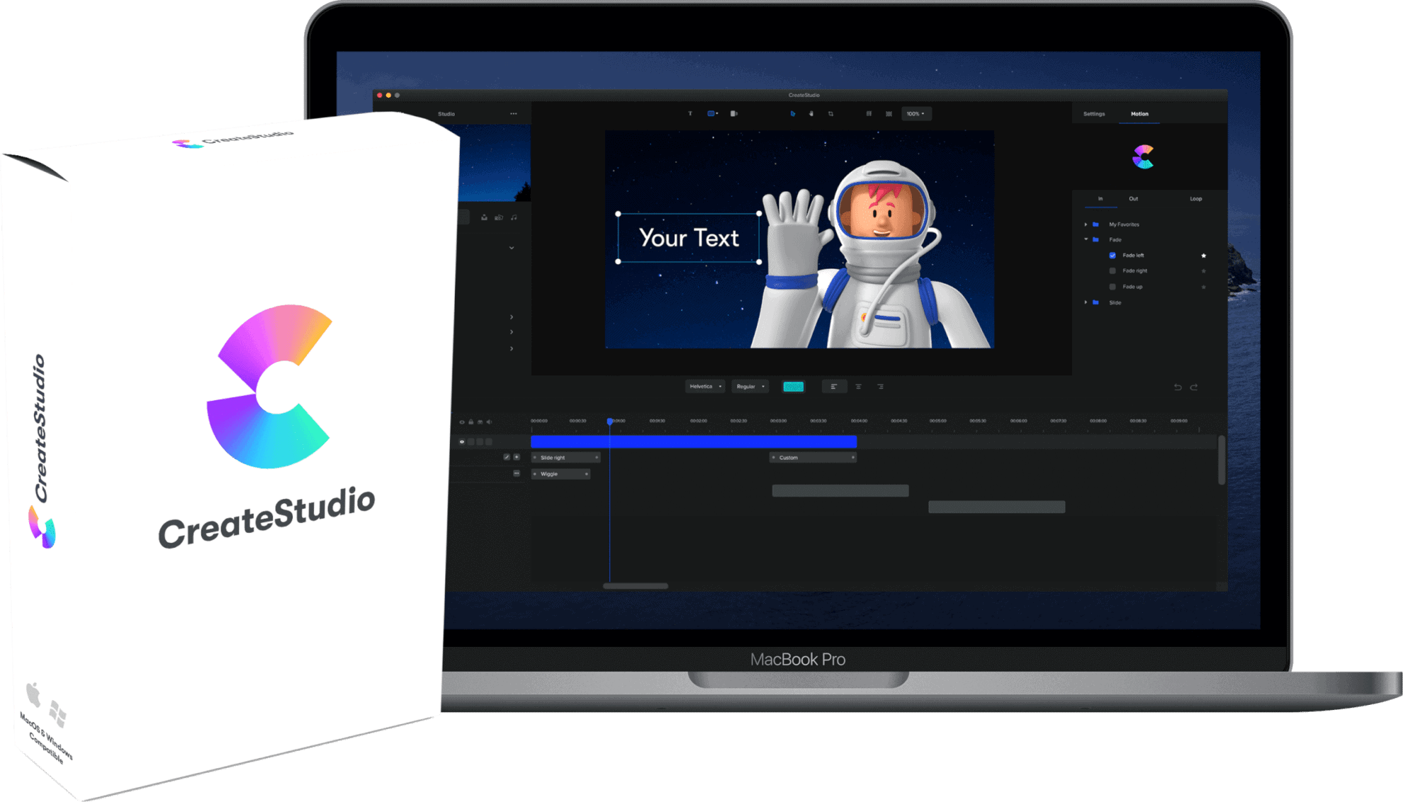 CreateStudio Animation Software