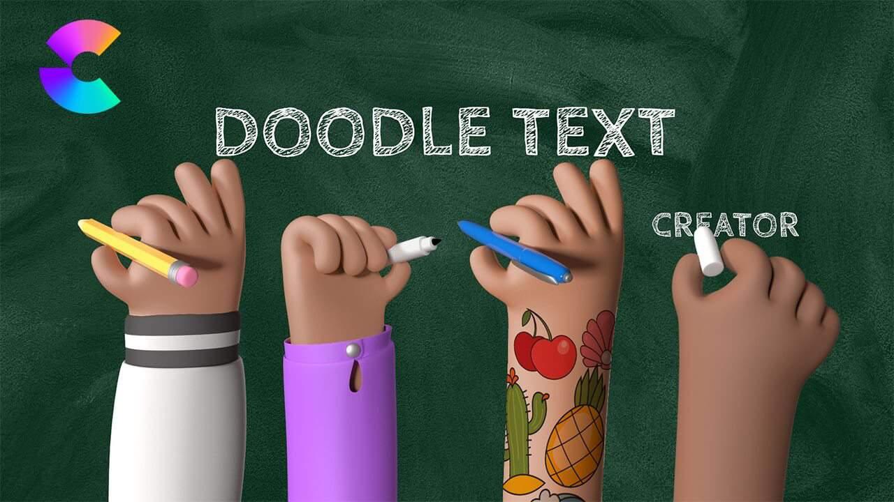 CreateStudio Doodle Text Creator