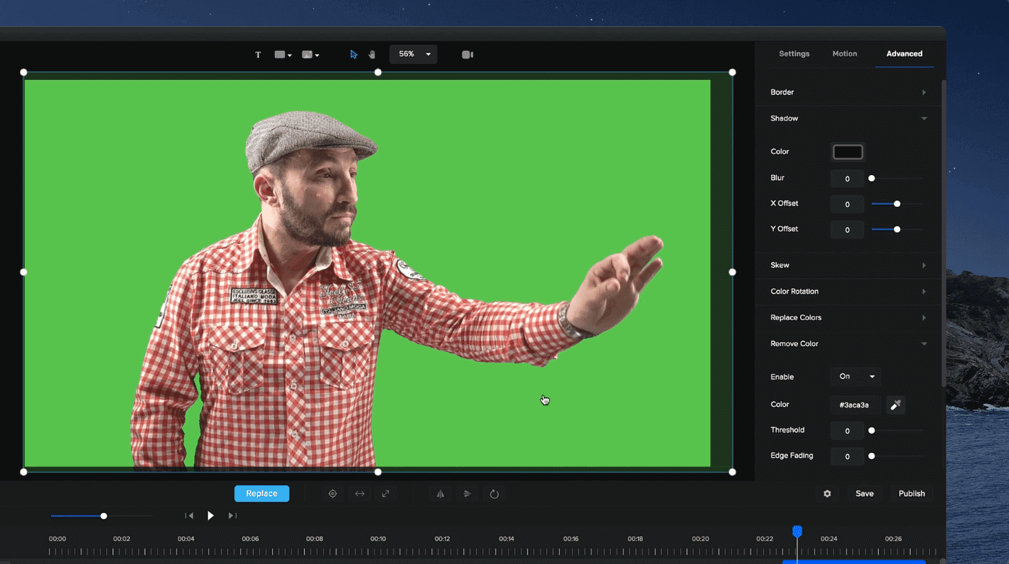 Improved Green Screen Removal