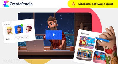 CreateStudio Lifetime Deal - Onetime Payment