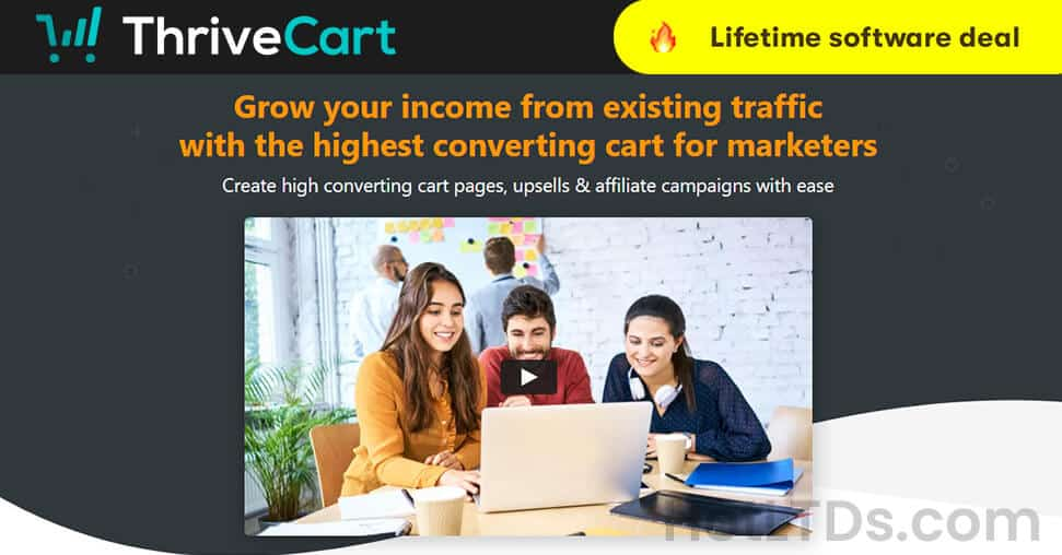ThriveCart Lifetime Deal - Onetime Payment Only