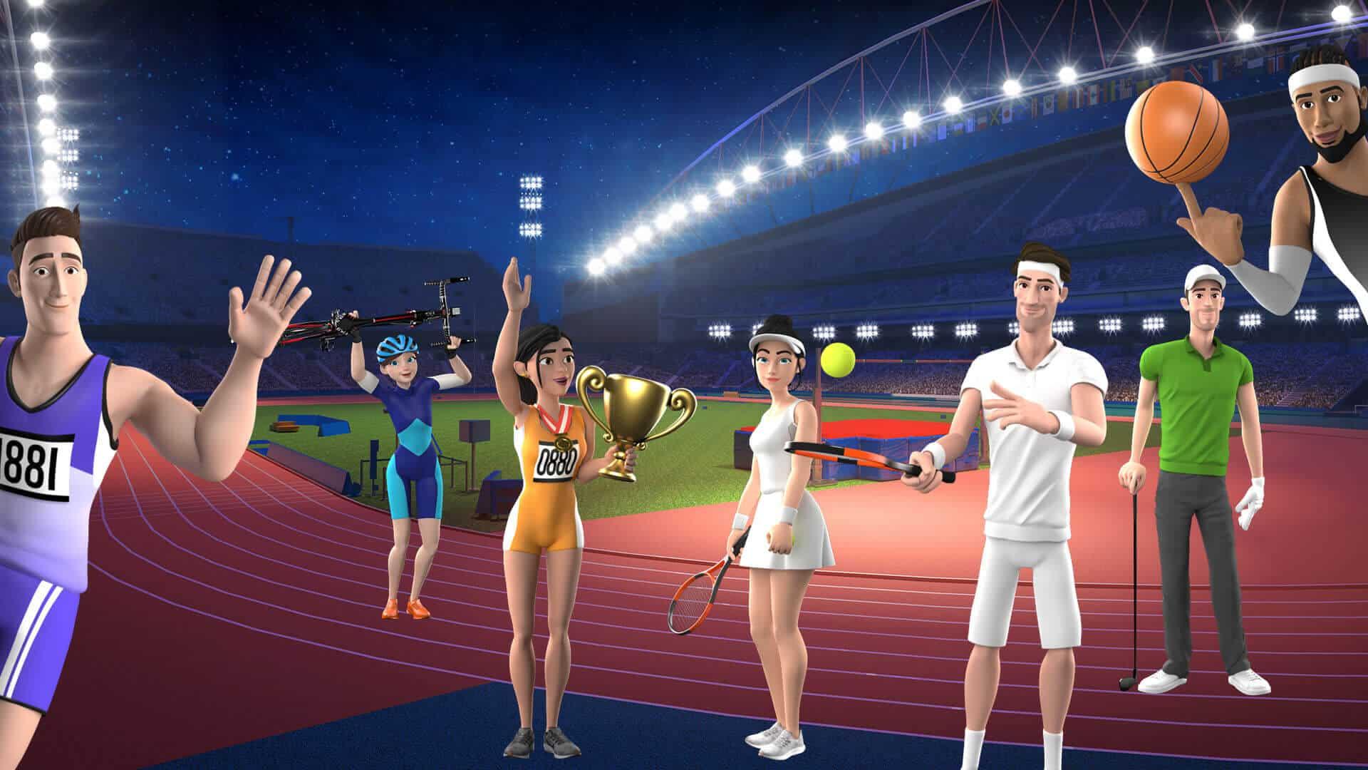 sports characters createstudio